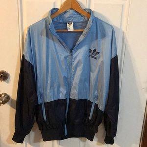Adidas Vintage Late 70s Mesh Lining Windbreaker